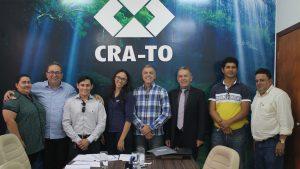CRA-TO recebe a visita do subsecretário de Administração do Tocantins