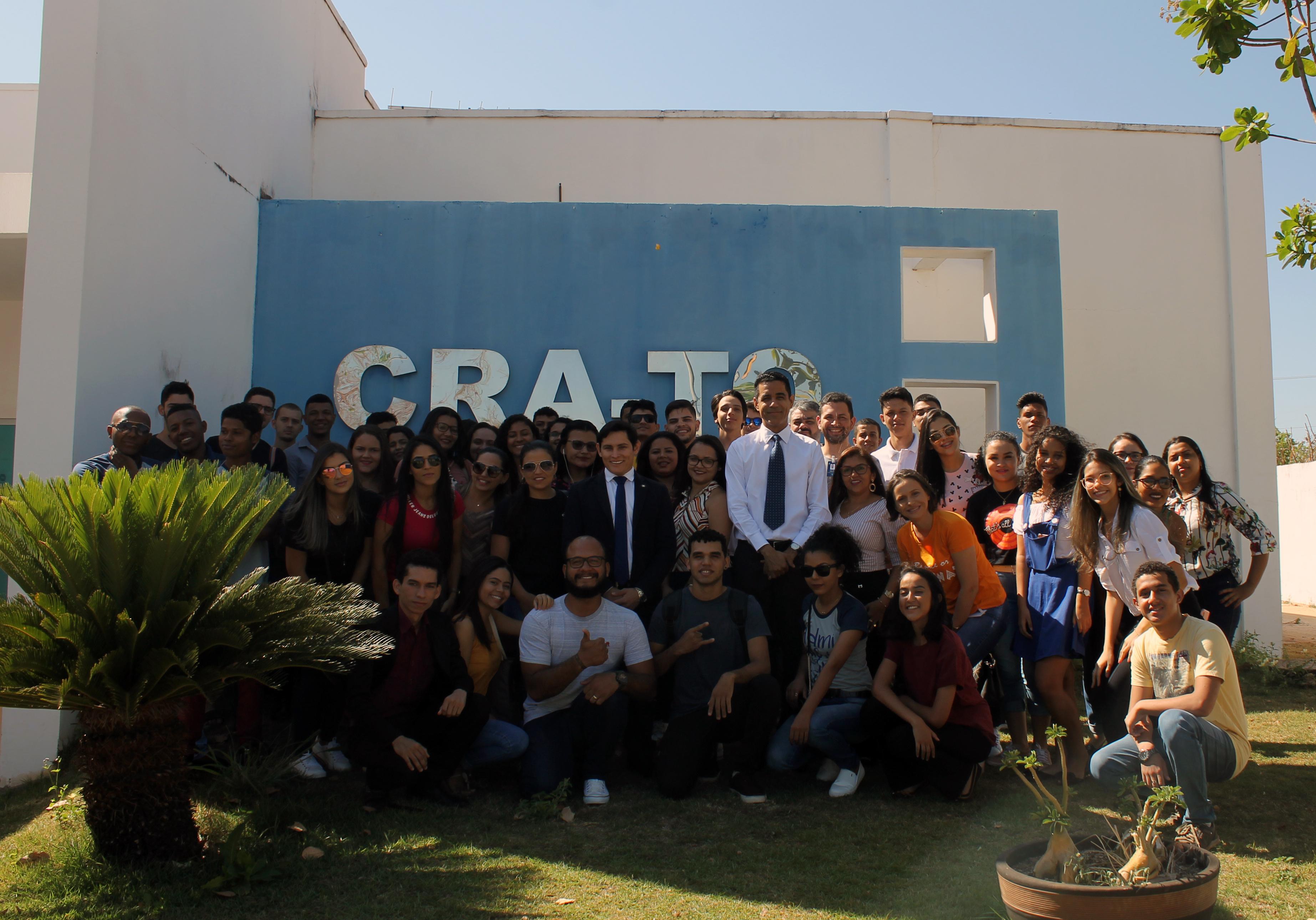 You are currently viewing Estudantes de Administração da FAG e Fasec participam de visita técnica no CRA-TO