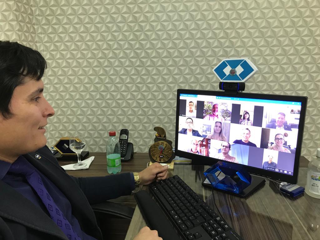 CRA-TO realiza primeira sessão plenária por videoconferência