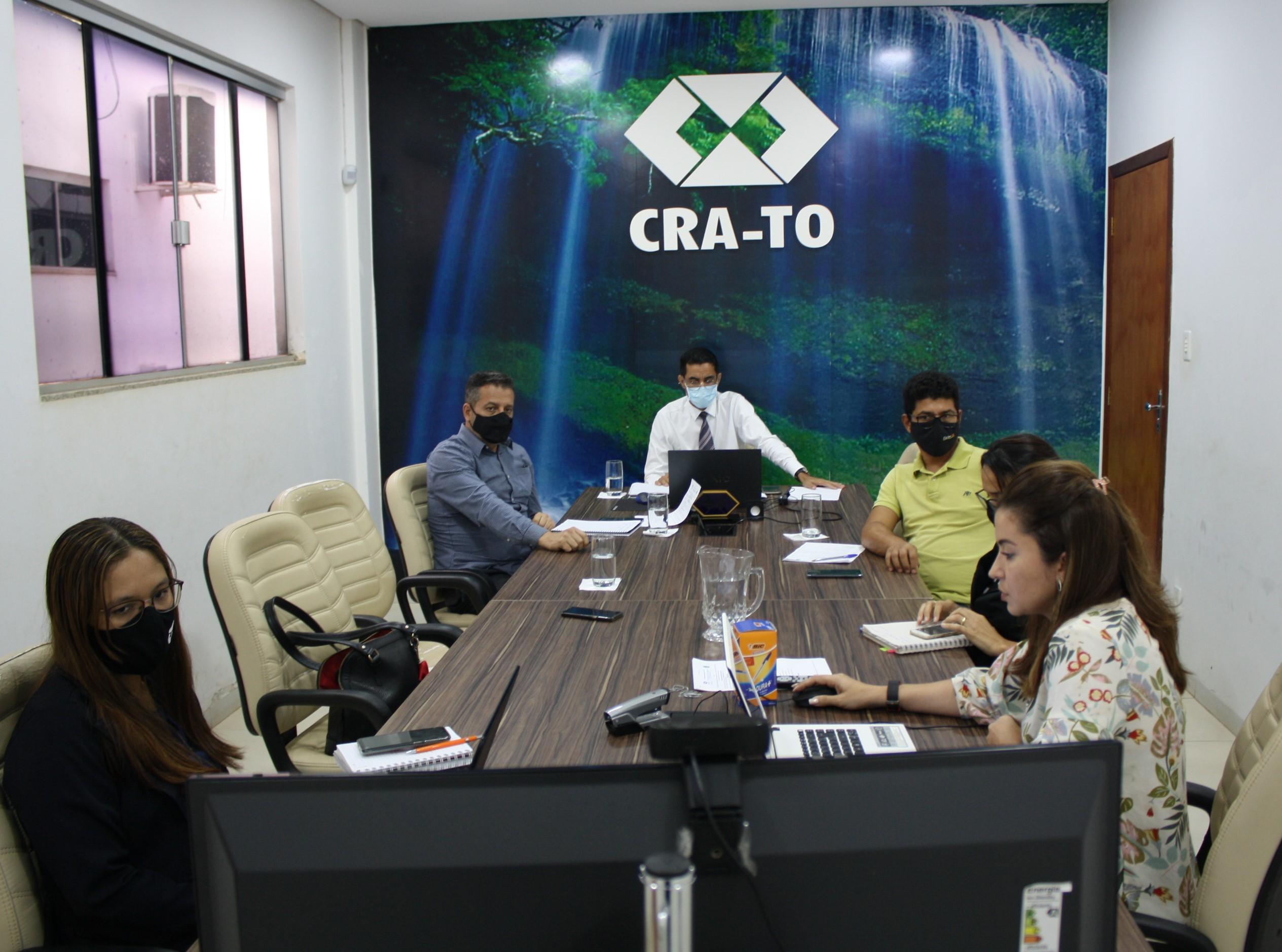 Conselheiros do CRA-TO reúnem-se para a 3º reunião plenária do ano