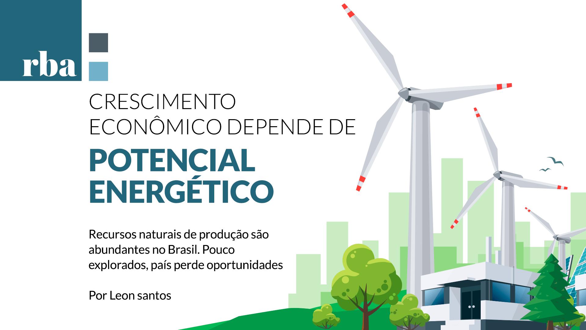 Qual é o tamanho do potencial energético do Brasil?
