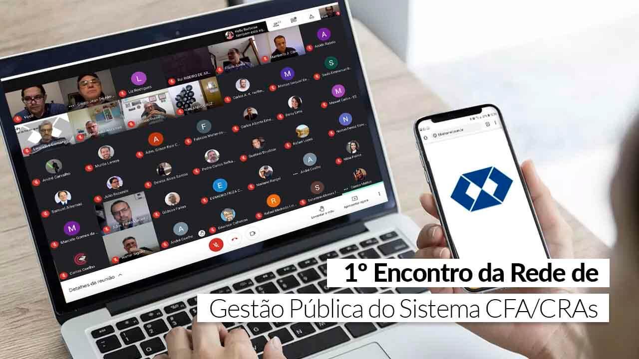 Reunião on-line discutiu a profissionalização na Gestão Pública