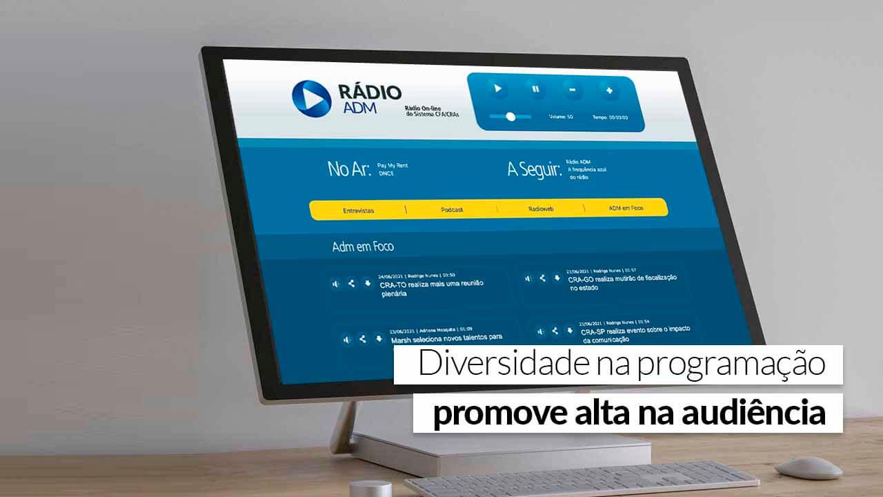 Read more about the article Conteúdos da Rádio ADM ganham repercussão nacional