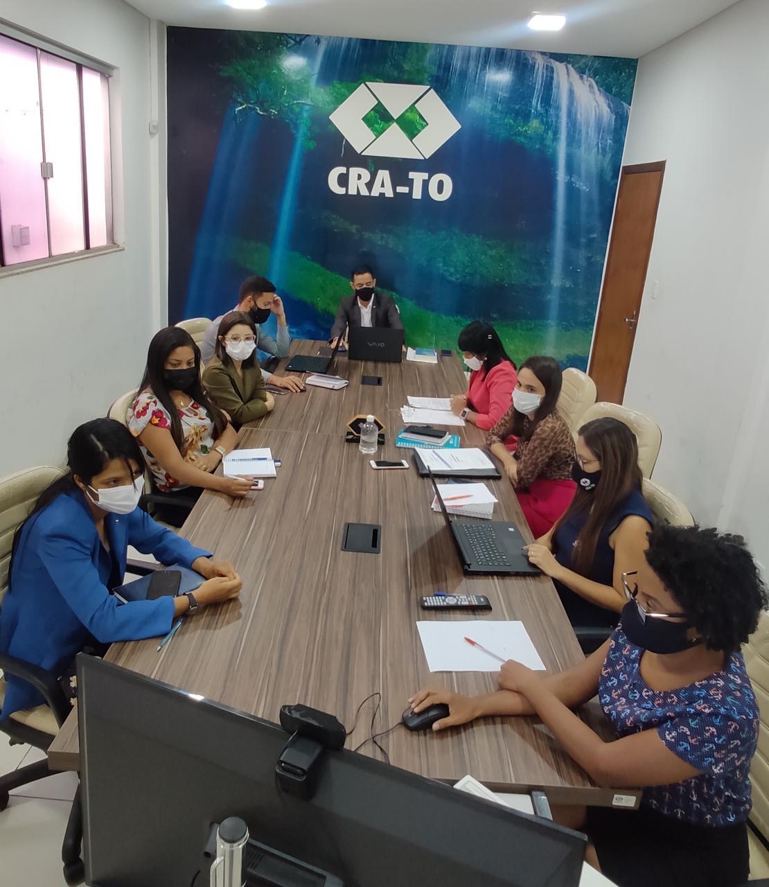 You are currently viewing Conselheiros do CRA-TO reúnem-se para a 10º reunião plenária do ano